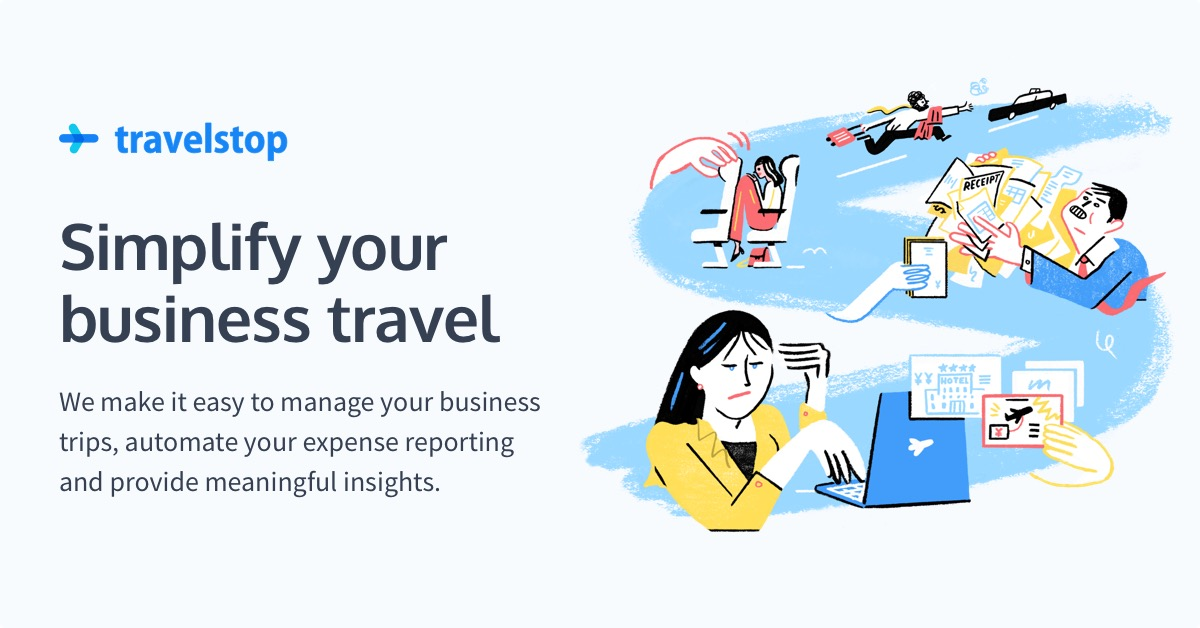 travelstop business travel expense reporting and insights